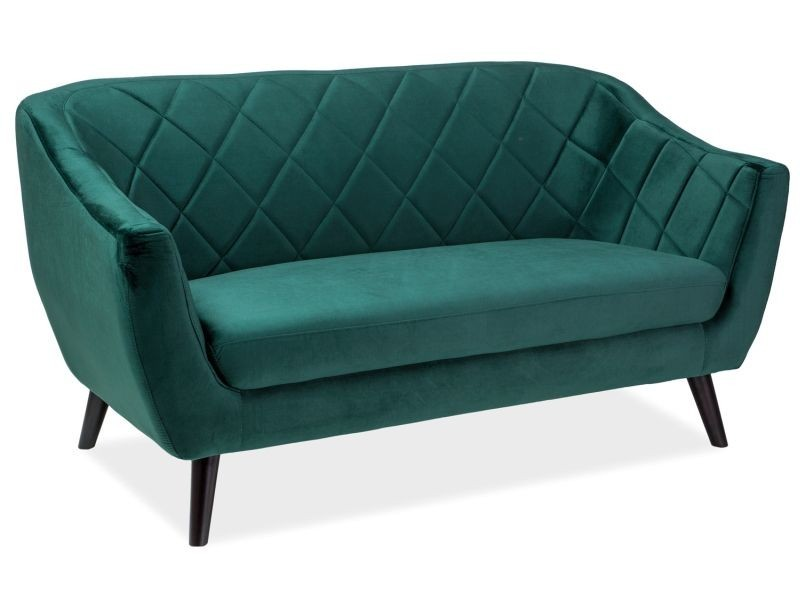 SOFA MOLLY 2 VELVET ZIELONY BLUVEL 78